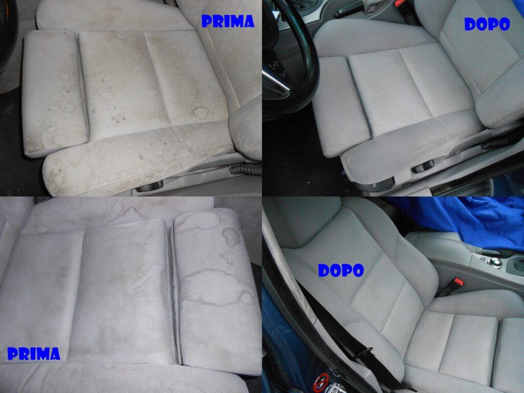 igienizzazione interni auto foto